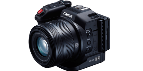 Canon XC10 4K camera