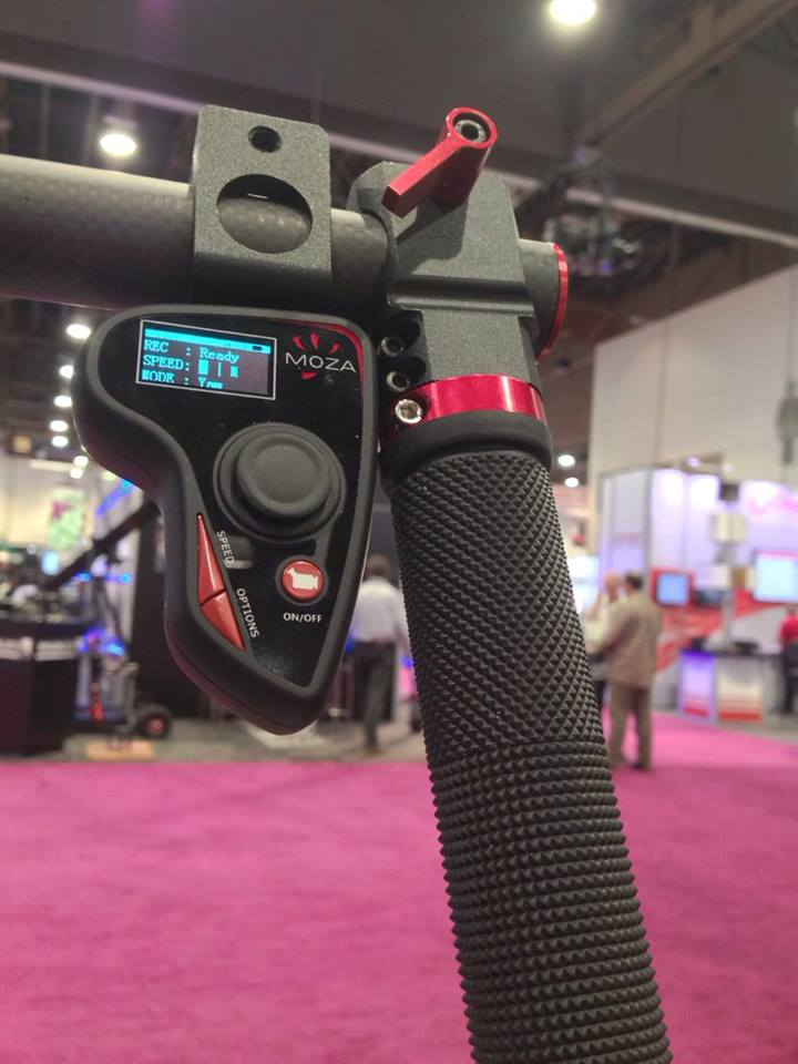 MOZA Thumb Controller at NAB