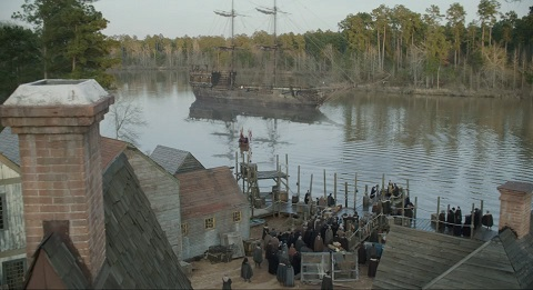 FuseFX Visual Effects For Salem - 20 before and after shots that show the magic of visual effects