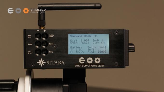 Sitara Wireless Remote Follow Focus LCD