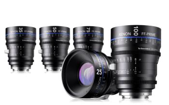 Xenon FF-Primes 25 35 50 75 & 100 mm