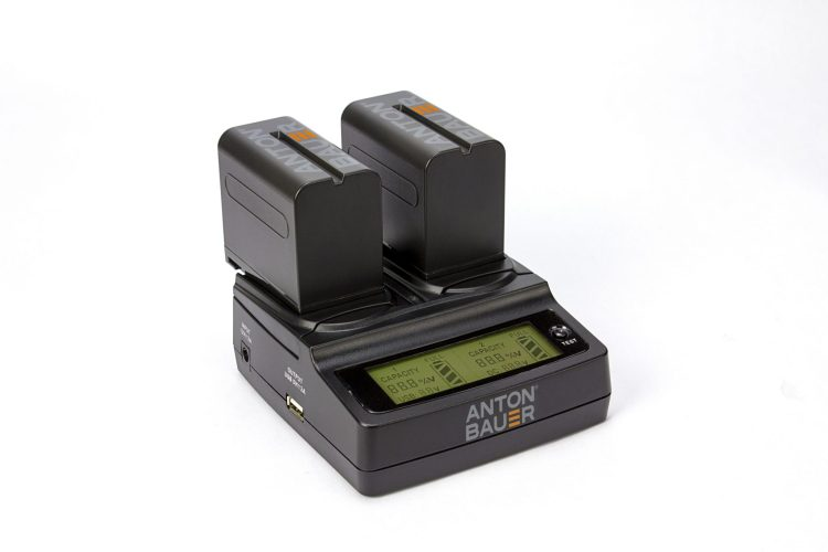 AntonBauer 7.2v battery & charger dual