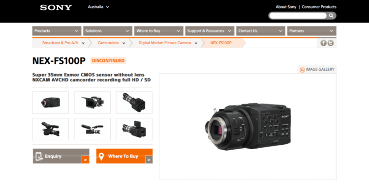FS100 Discontinued