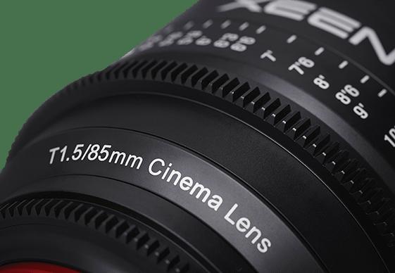 XEEN 85mm Lens from Samyang