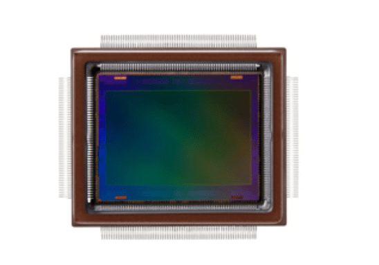 Canon APS-H-size 250 million pixels CMOS Sensor