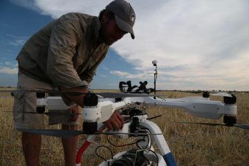 AERIGON Provides Aerial Cinematography for Natural History Film Unit on Return of the Giant Killers 2