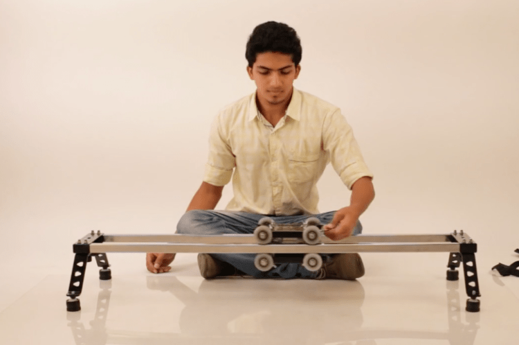 Portable Camera Slider Dolly System PCSDS