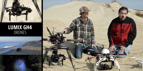 Panasonic GH4 Enhance Your Videography with Drones by Bryan Harvey