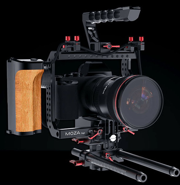 MOZA Remote Control / Power Supply Cage For Sony a7 & a7II