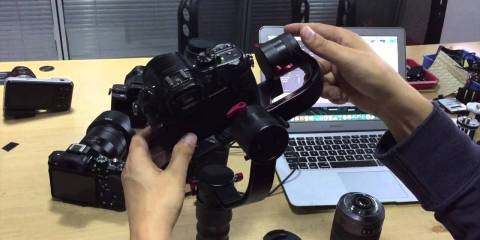 Beholder DS1 Gimbal PID & Camera Setting with Canon 5D3 Sony A7SII & Panasonic GH3