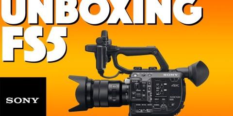 Unbox a Sony PXW-FS5 Camera