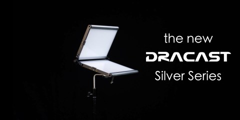 Silver is the New Blue with the Dracast LED Silver Series Lights
