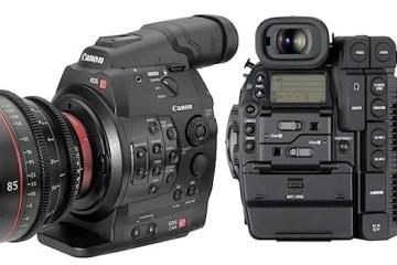 Canon-EOS-C300-Mark-II side by side