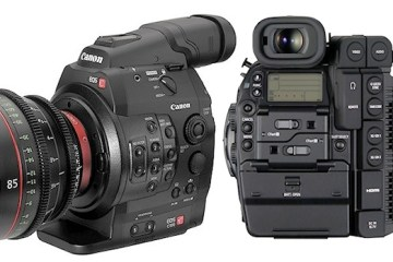 Canon C300 Mark II and Sony A7S II Colour and Autofocus Side