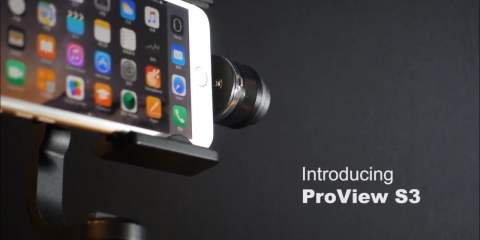 ProView S3 Stabilizer Gimbal for Smartphones