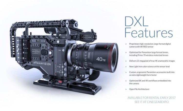 8K DXL Panavision Features