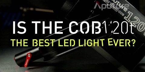 Aputure Asks: Is this the Best LED Light Ever? The Lightstorm 120t