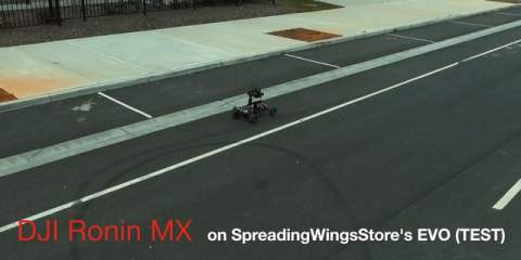DJI Ronin MX First Test On Custom EVO RC Camera Buggy