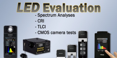 LED Light Evaluations from Dedo Weigert Film