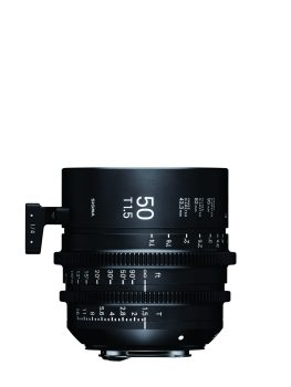 Sigma 50mm Cine Lens