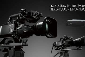 Sony 4K/HD Slow Motion System Camera HDC-4800
