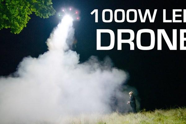 1000W LED on a Freefly Alta