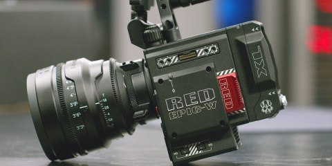 8K RED Epic-W Unboxing