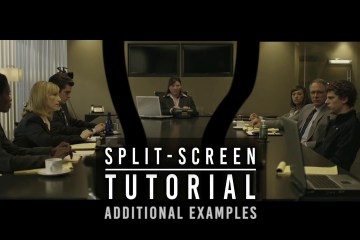 INVISIBLE SPLIT-SCREEN TUTORIAL No2 The David Fincher Technique