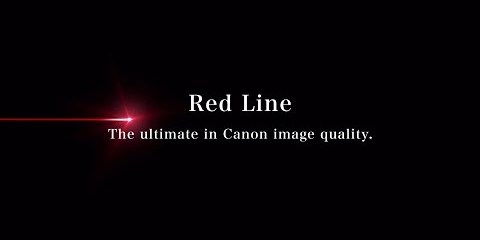 Is There Every Current Canon L Series Lens in this Canon Red Line Promo?