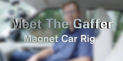 Shooting Inside A Car With A 3 Camera Setup Using RigWheels Magnetic Mounts