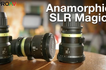 Faces With the SLR Magic Anamorphot 2x Anamorphic Adapter