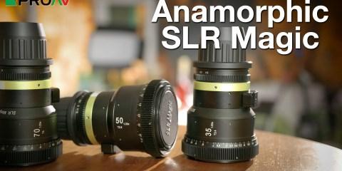 SLR Magic Anamorphic Lenses: The Anamorphot Range