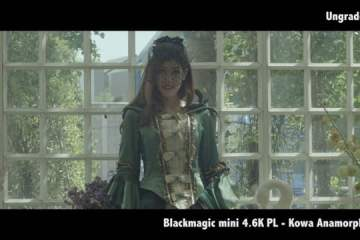 Blackmagic Mini 4.6K With Kowa Anamorphic, Cooke S4, and CP2 Lenses