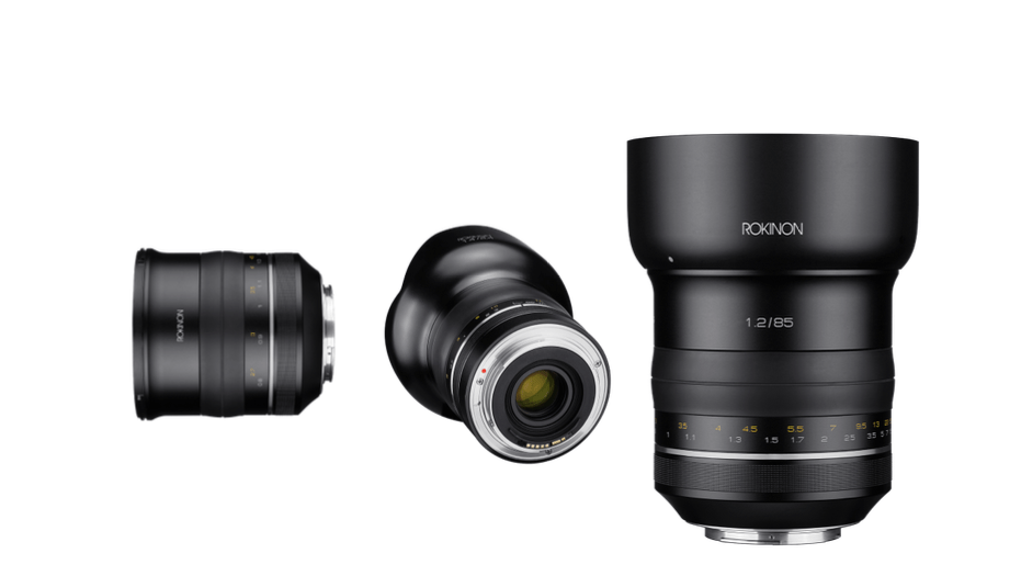 Rokinon SP 85mm F1.2 Full Frame and the new Rokinon SP 14mm F2.4 ...