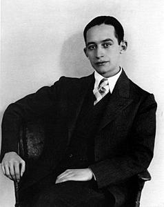Xavier Villaurrutia por Manuel Álvarez Bravo