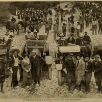 Romaine Fielding y su staff de Lubin (1913)