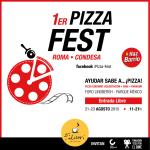 #Pizzafest: disfruta deliciosa comida, cine, apoya comunidades y #hazbarrio