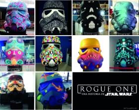 Artistas mexicanos le dan vida a cascos de Stormtrooper