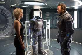 """""""Passengers"""" una historia de amor en el espacio"""