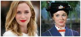 Inicia filmación de Mary Poppins Returns, con Emily Blunt como protagonista