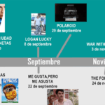 Calendario de estrenos de Diamond Films
