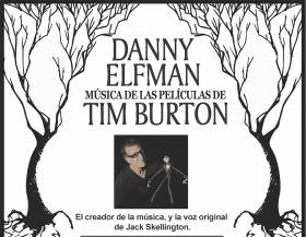 Danny Elfman dará un concierto con las mejores canciones de las películas de Burton