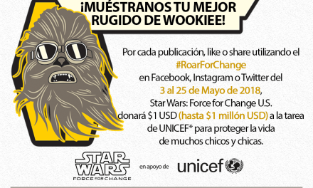 Enterate de  la causa Star Wars: Force for Change y súmate a ella…