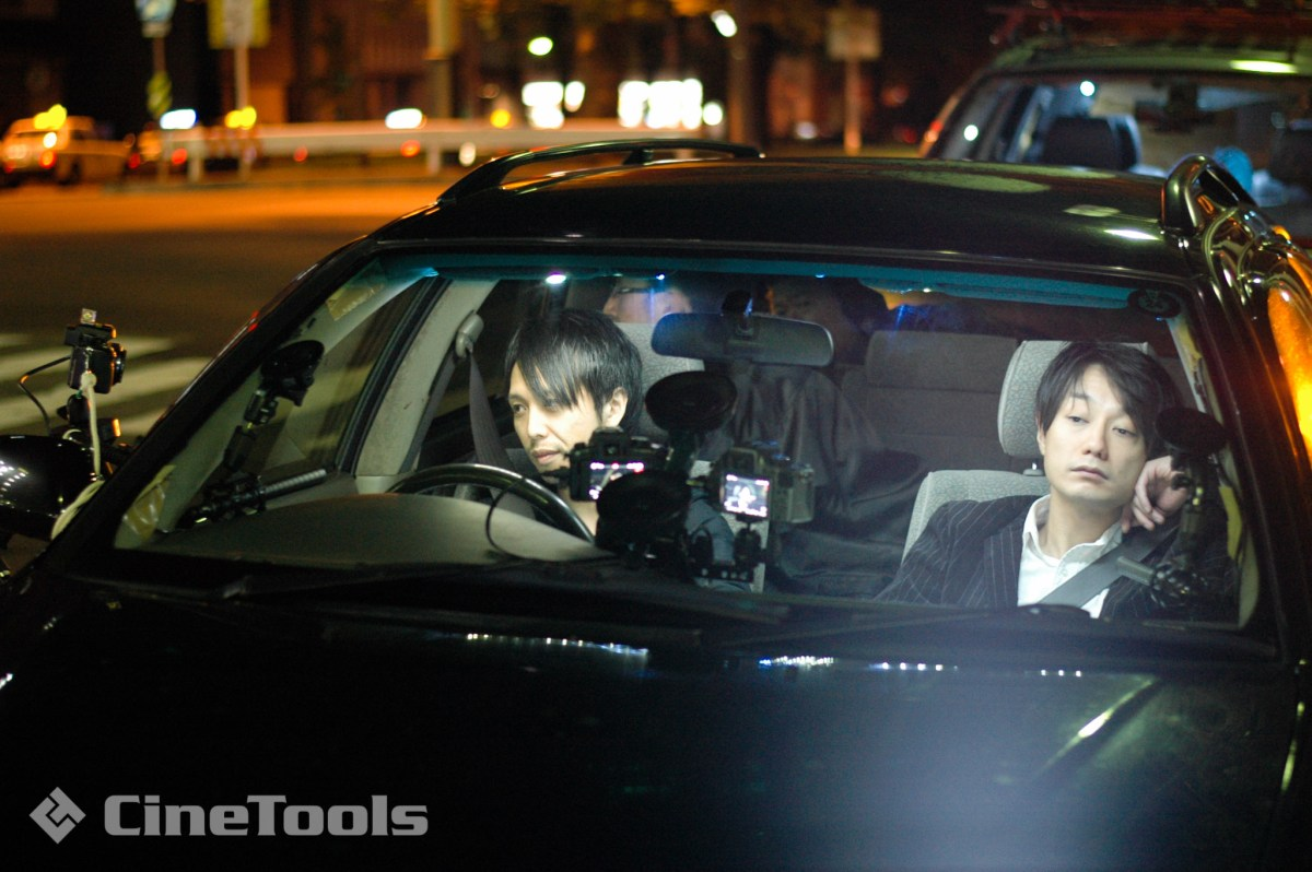GH2を3台使用しての車内撮影
