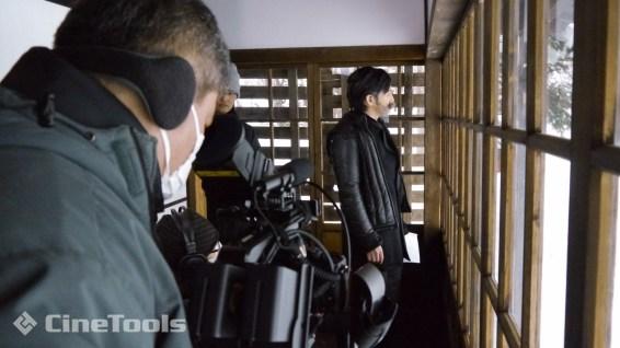 思いを馳せるクラーク博士役の江田由紀浩さん