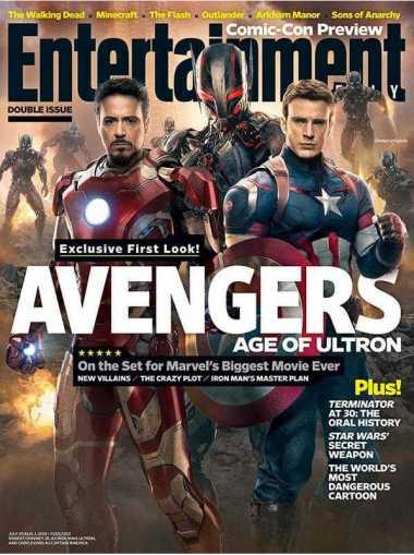 """Capa da revista """"Entertainment Weekly"""""""