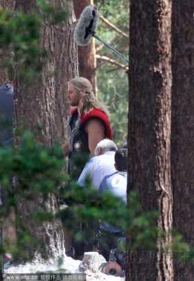 Filmagem de 'Os Vingadores 2'
