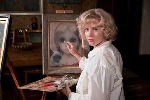 A Atriz no papel de Margaret Keane