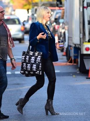 Celebrity Sightings in New York City - November 3, 2016