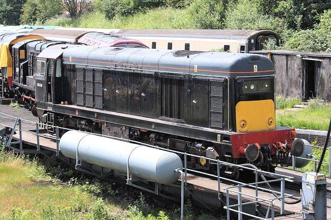 My name is Bond...James Bond.... British Rail Class 20 in GOLDENEYE (3/3)
